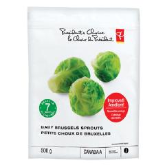 Presidents Choice PC Brussels Sprouts