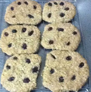 Chewy Oatmeal Raisin Spelt Cookies Recipe