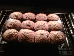 Fruit Explosion Muffins Recipe
