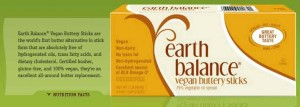 Earth Balance Margarine Buttery Sticks Vegan