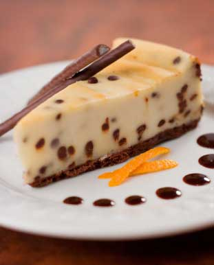 Easy Cheesecake Recipe | Chocolate Chip with Rumball Crust