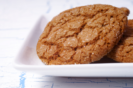 Chewy Molasses Ginger Cookie Recipe