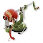 apple peeler hand cranked suction