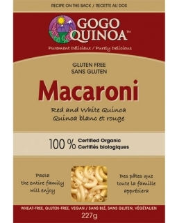 gluten-free-macaroni-red-white-quinoa | photo: gogoquinoa.com
