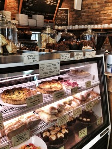 Alice's Village Cafe in Carp food diplay counter