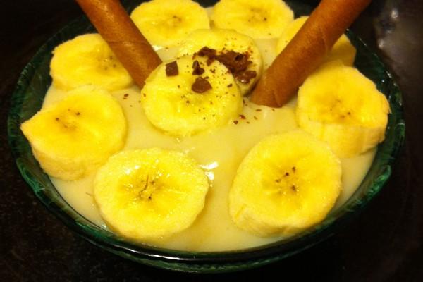 vanilla pudding recipe with bananas