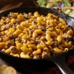 Cheese Burger Pasta Recipe