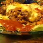 taco lasagna casserole | 7 layer casserole