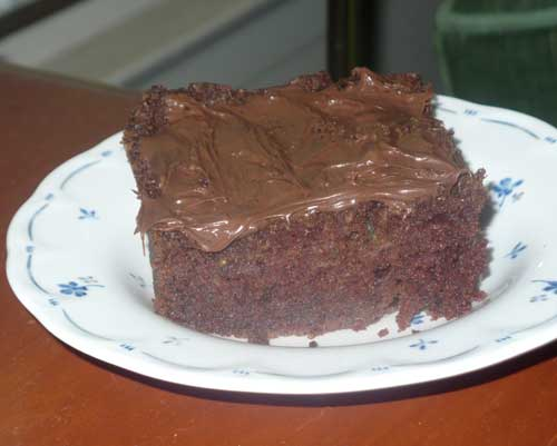 Zucchini Bread Recipe Like Chocolate Cake