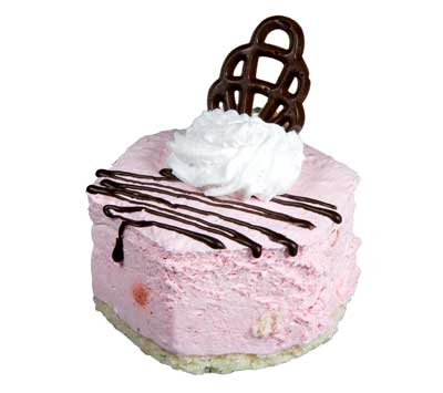 Raspberry Freeze Frozen Dessert Recipe