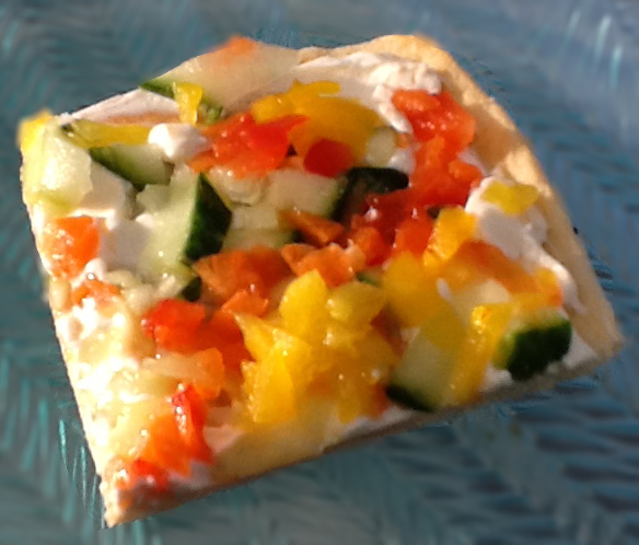 Cool Veggie Appetizer Recipe - Bridal / Baby Shower / Parties