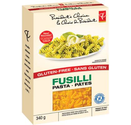 Gluten Free Pasta GF PC Corn Fusilli Noodles