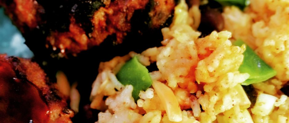 Curried Rice Recipe - Chicken Beef Shrimp or Veggie - Your Pick