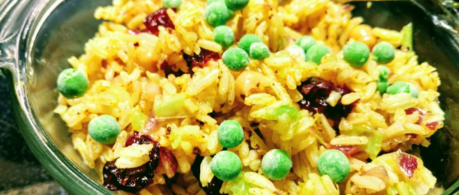 curried rice pot luck recipes summer bbq